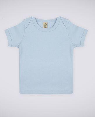 T-Shirt bébé Petit coeur brodé personnalisé