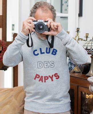 Sweatshirt homme Club des papys