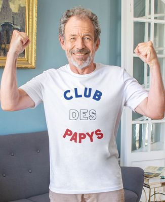 T-Shirt homme Club des papys