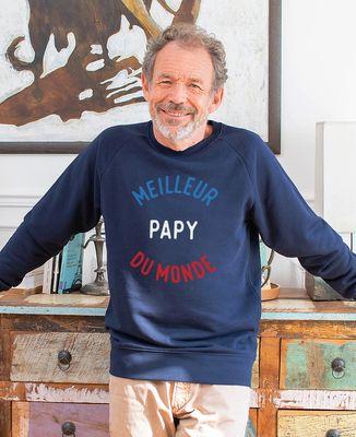 Sweatshirt homme Meilleur papy du monde