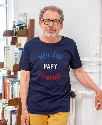 T-Shirt homme Meilleur papy du monde