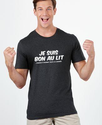 T-Shirt homme Je suis bon au lit