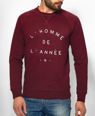 Sweatshirt homme L'homme de l'année