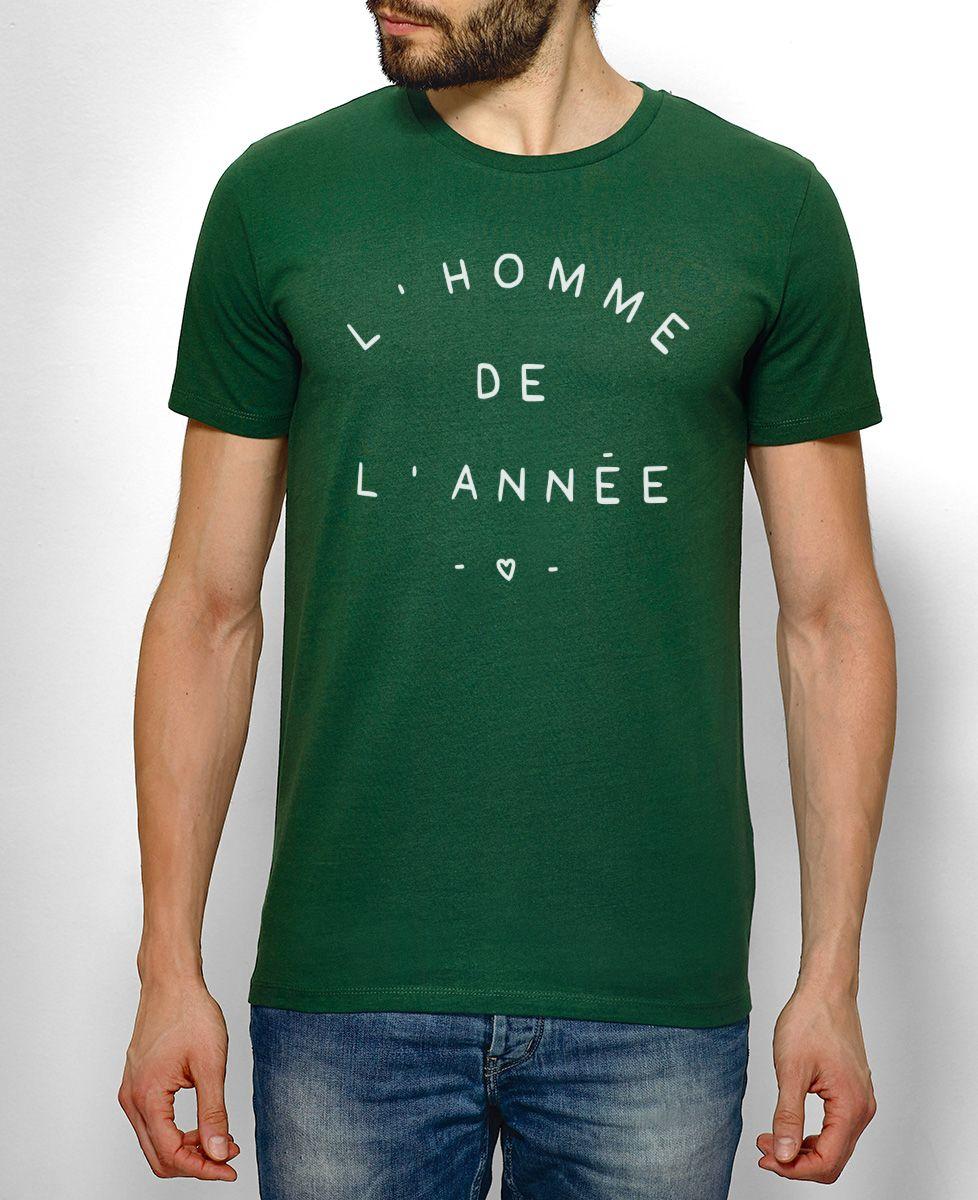 T-Shirt homme L'homme de l'année