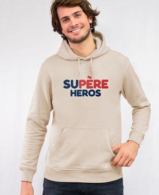 Hoodie homme Supère héros