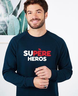 Sweatshirt homme Supère héros