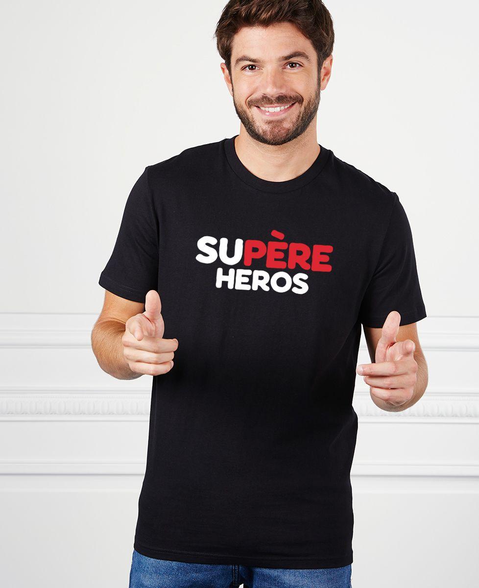 T-Shirt homme Supère héros