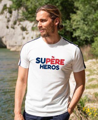 T-shirt homme recyclé Filgood Supère héros