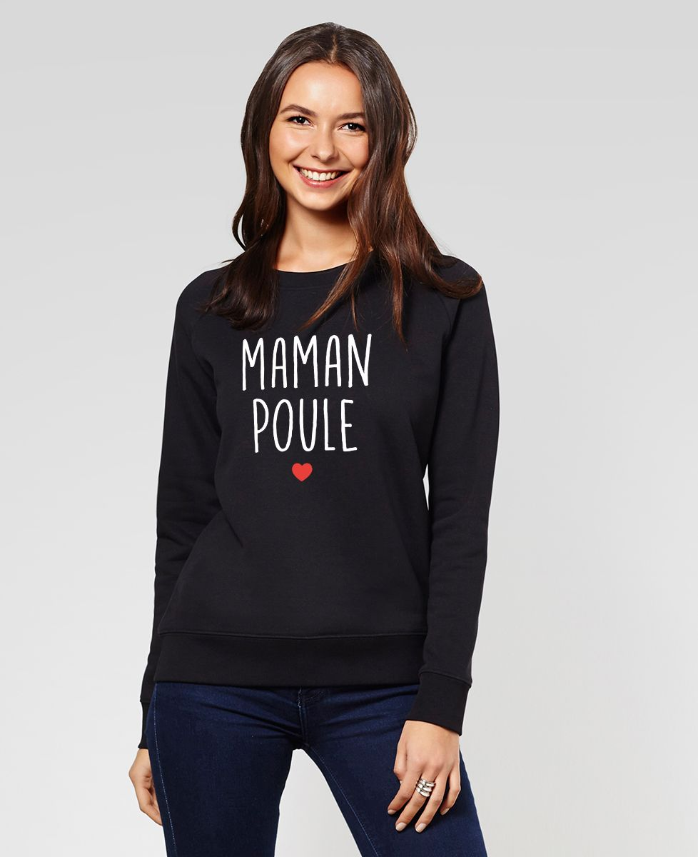 Sweatshirt femme Maman poule