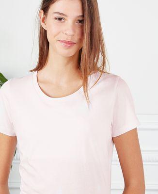 T-Shirt femme Picto brodé personnalisé
