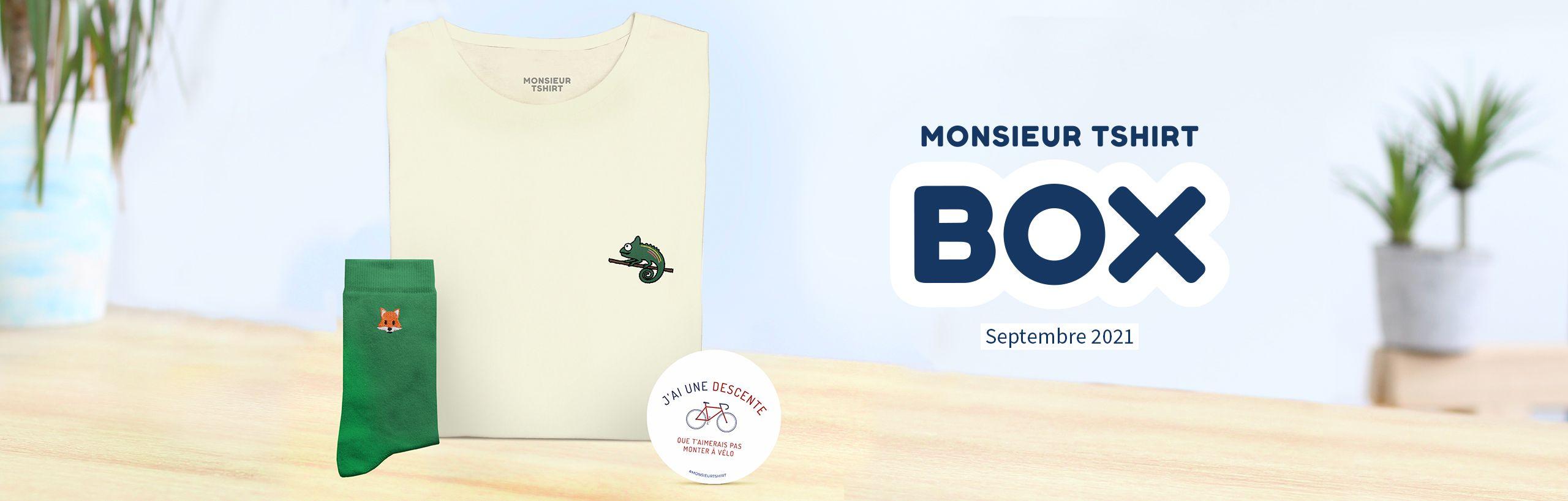 T-Shirt Box Homme