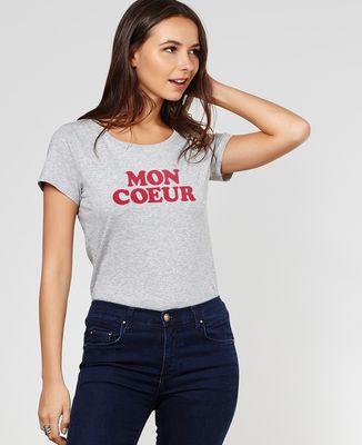 T-Shirt femme Mon coeur