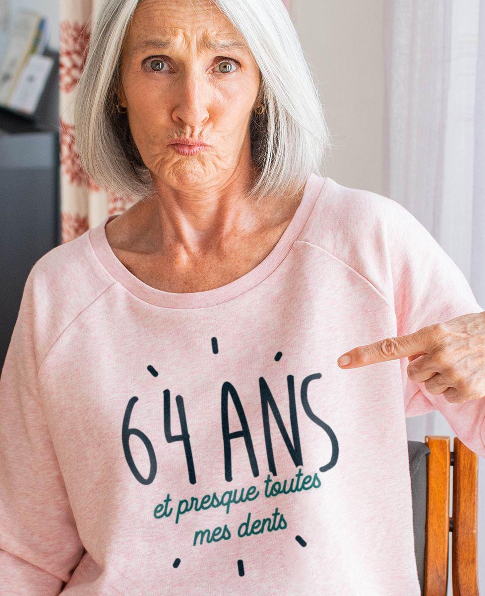 Sweatshirt femme Presque toutes ses dents personnalisé