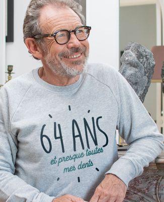 Sweatshirt homme Presque toutes ses dents personnalisé