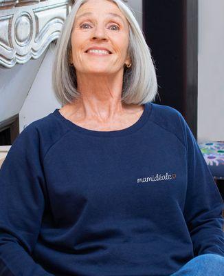 Sweatshirt femme Mamidéale (brodé)