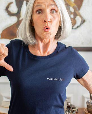 T-Shirt femme Mamidéale (brodé)