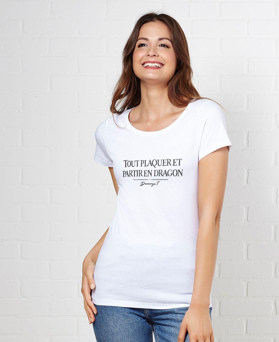 Tee Shirt Femme Avec Dragons