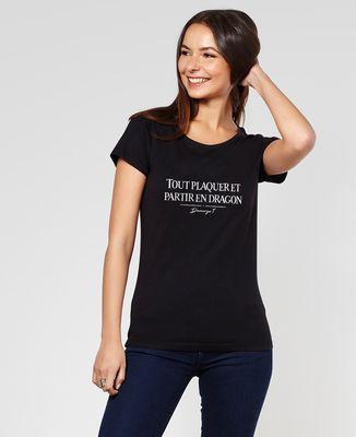 T-Shirt femme Partir en dragon