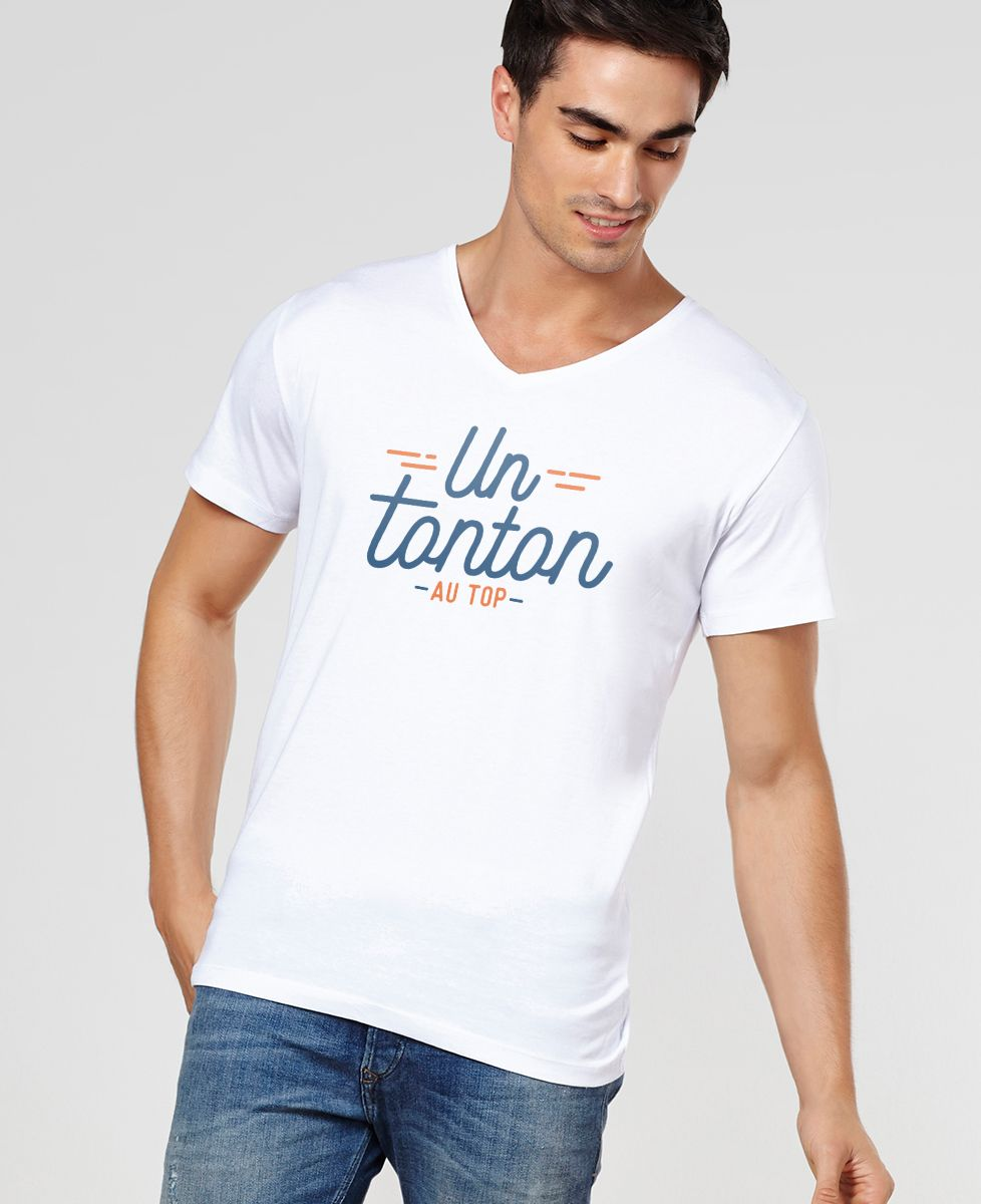 T-Shirt homme Tonton au top