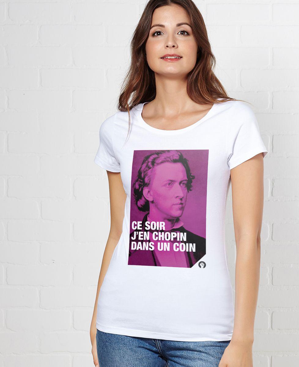 T-Shirt femme Chopin