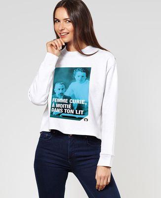 Sweatshirt femme Curie