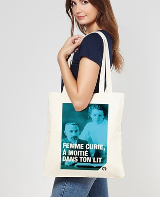 Tote bag Curie