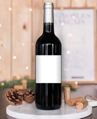 Bouteille de vin Avatar personnalisé
