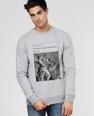 Sweatshirt homme Crimes et chattes immenses