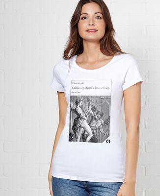 T-Shirt femme Crimes et chattes immenses