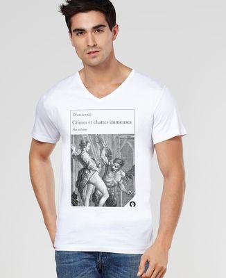 T-Shirt homme Crimes et chattes immenses