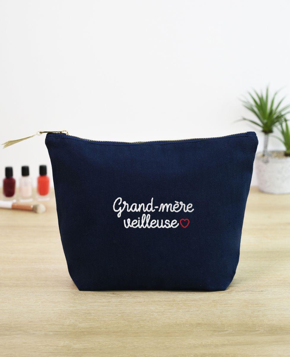 Trousse Grand-mère veilleuse (brodé)