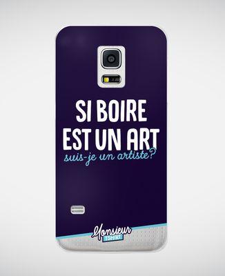 Coque smartphone Suis-je un artiste