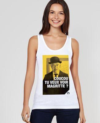 Débardeur femme Magritte