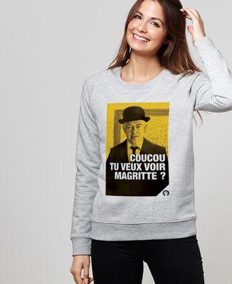 Sweatshirt femme Magritte