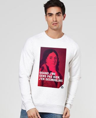 Sweatshirt homme Desmoulins