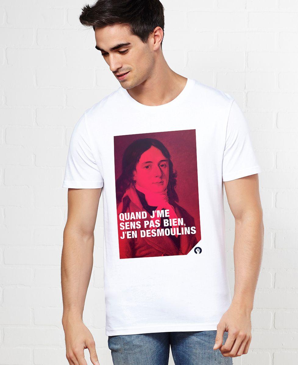 T-Shirt homme Desmoulins