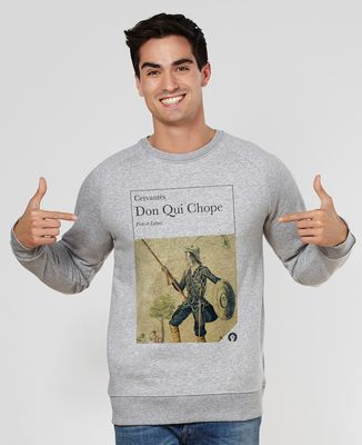 Sweatshirt homme Don qui chope