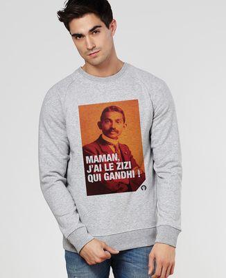 Sweatshirt homme Gandhi