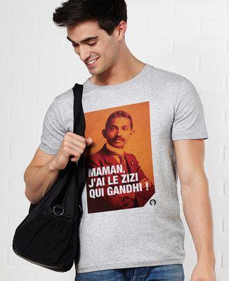 T-Shirt homme Gandhi
