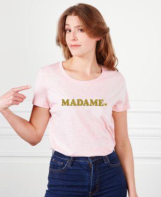 T-Shirt femme Madame (effet paillettes)