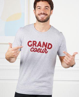 T-Shirt homme Grand coeur / Petit coeur