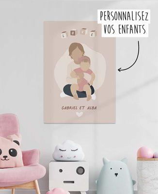Affiche Vos enfants personnalisé