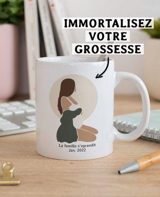 Mug Femme enceinte personnalisé