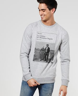 Sweatshirt homme Le Chibre de Monsieur Seguin