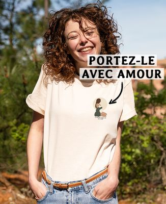 T-shirt femme recyclé Filgood Femme enceinte personnalisé