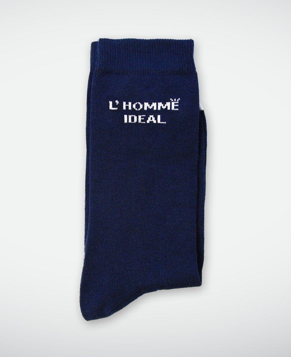Chaussettes homme L'homme idéal