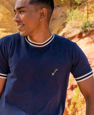 T-shirt homme recyclé Filgood Champagne (brodé)