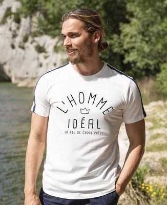 T-shirt homme recyclé Filgood L'homme idéal