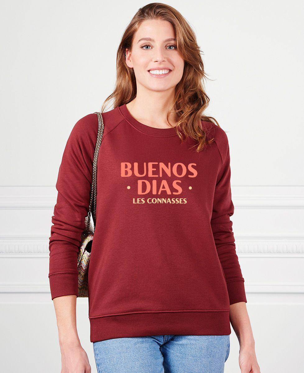 Sweatshirt femme Buenos Dias