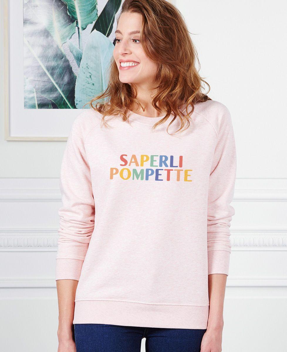 Sweatshirt femme Saperlipompette